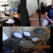 Adjust audio settings in zoom for best online drum lesson sound.