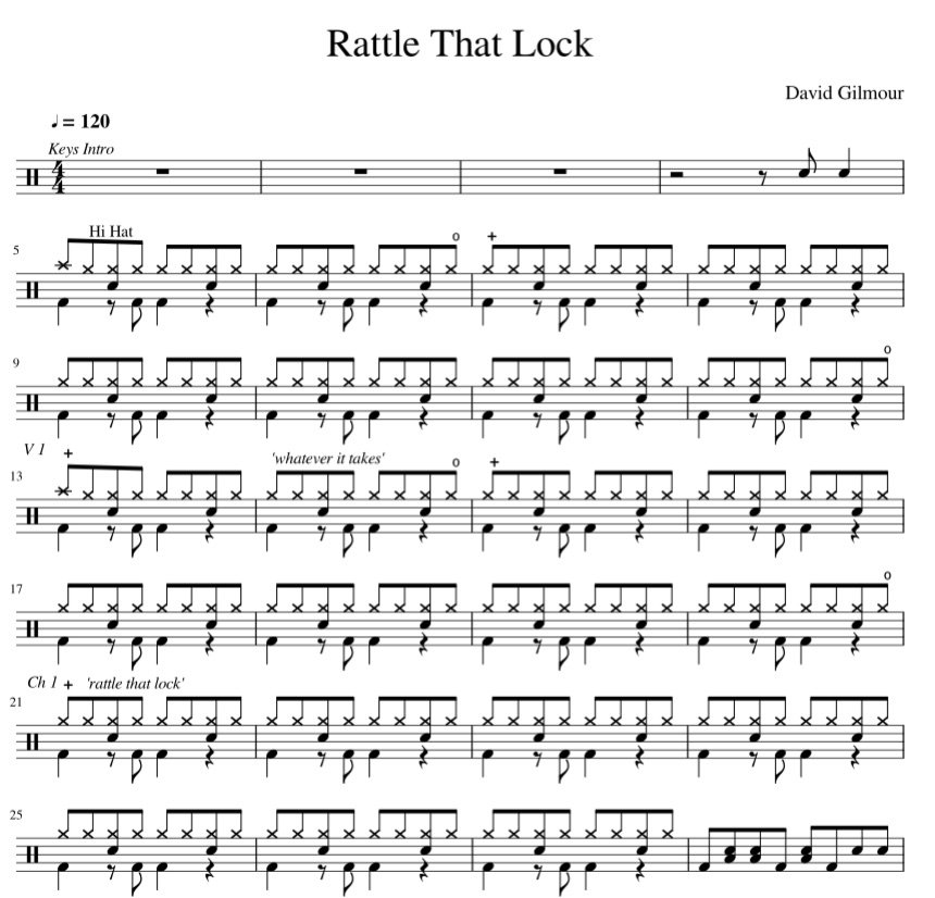 Rattle That Lock Preview