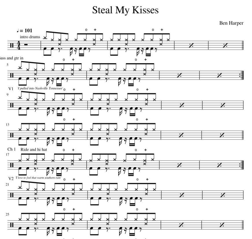 Steal My Kisses Preview