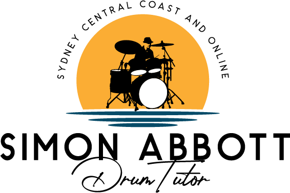 Simon Abbott - Drummer and Tutor Sydney, North Central Coast And Online.
